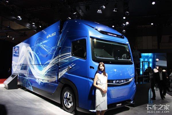 东京车展上的日系卡车 新能源和智能化!