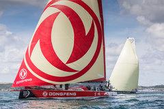 东风全力应战 沃尔沃环球帆船赛已起航
