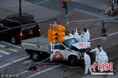 太残暴!卡车竟成纽约恐怖分子作案工具