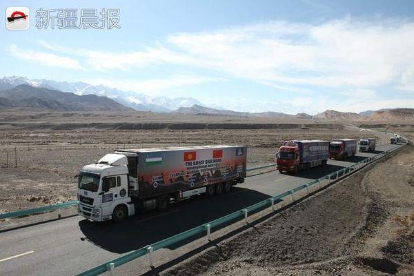 开着卡车去中亚丝绸之路新开卡车通道