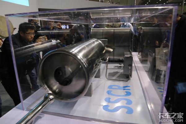 氨含量高达48%一汽解放发布固体氨技术