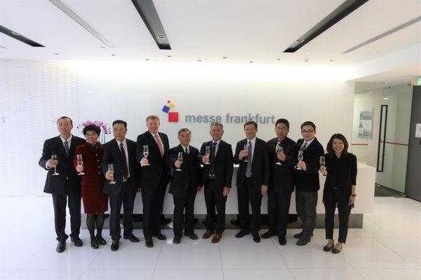 法兰克福展宣布与北京通联成立合资公司