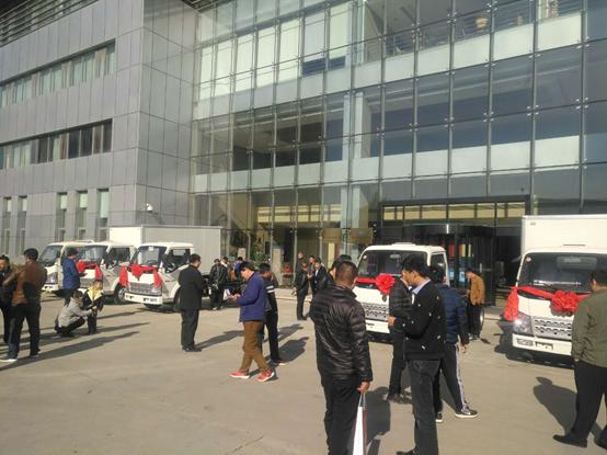 庆祝金杯锡柴490产品北京推介会召开