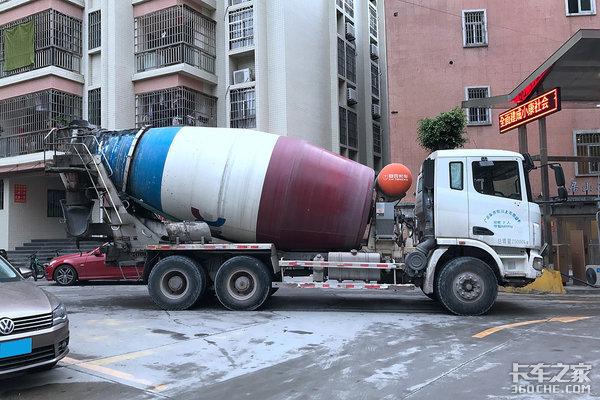 时间多事儿少混凝土搅拌车卡友真轻松