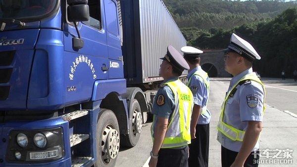 交通部公安部联合执法坚持治超常态化