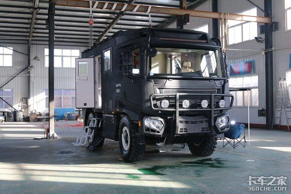中国首款自主越野房车性能直逼进口产品