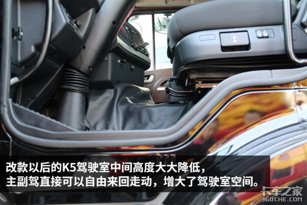 锡柴460马力+一汽AMT江淮格尔发K5详解