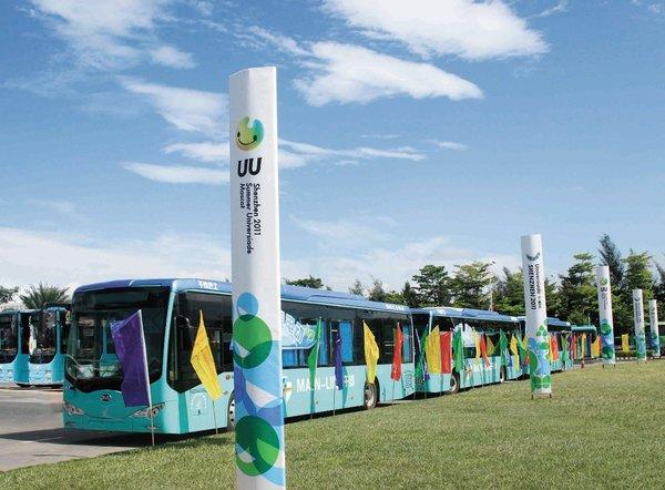 保有量第一 深圳公交将实现100%电动化