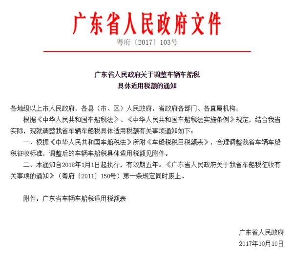 广东车船税新规明年起货车可省近千元税
