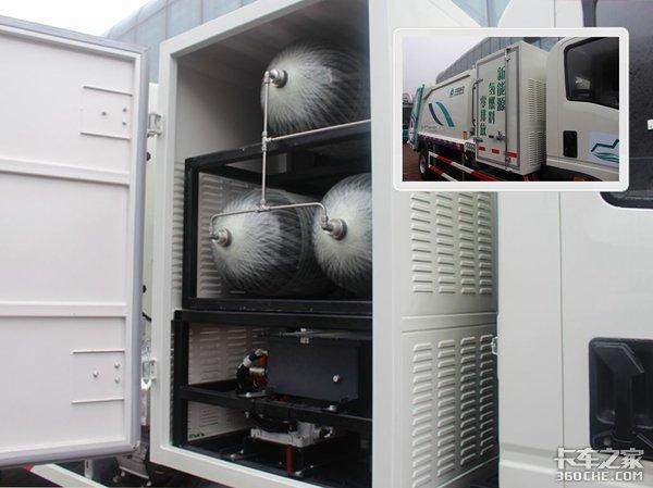 真正零排放中国重汽发布氢燃料电池轻卡