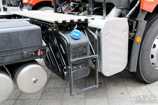 JH6凸地板车型亮相难道天V悍V要换代?