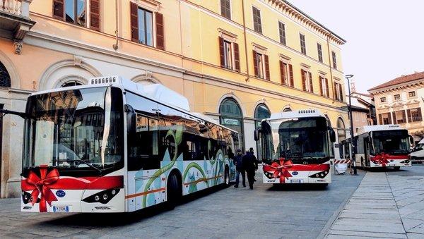 比亚迪打造意大利最大规模纯电动车队