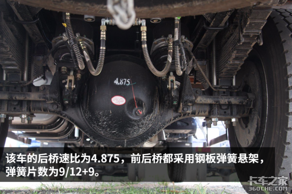 广东绿通用户新选择HOWO5米8载货车图解