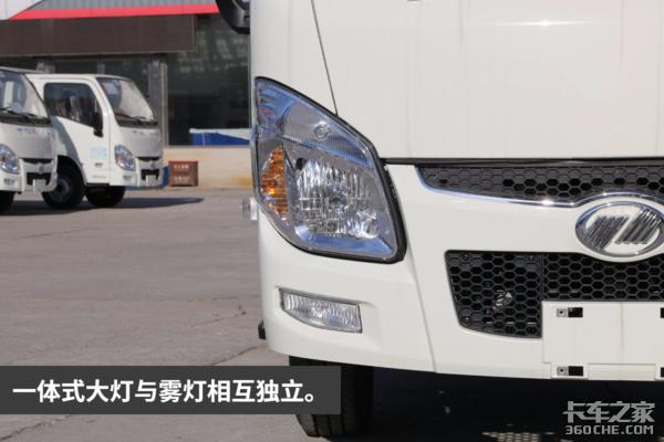 实拍图解经济型小福星排半栏板载货车