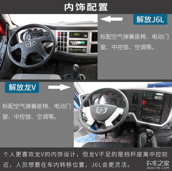 解放6.8米超值版:J6L和龙V有多大差别?