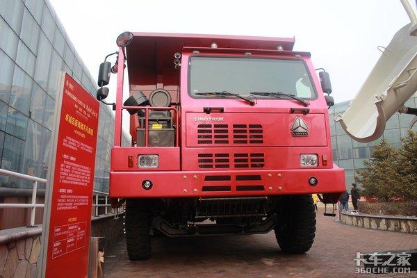 大尺寸6×4自卸车豪沃矿山霸王你喜欢吗