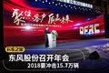 2018要冲击15.7万辆 东风股份召开年会