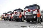 首次成批量出口 20辆红岩杰狮交付越南