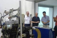 国五发动机项目首台样机首次点火成功