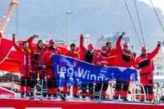 沃尔沃环球帆船赛第二赛段东风队获亚军