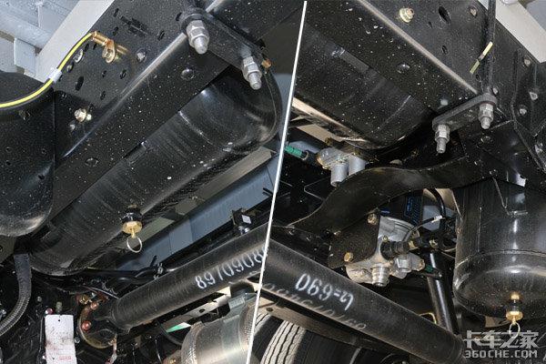 东莞实拍庆铃新车气刹版宽体KV600来了