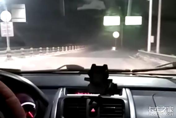 -35°C凌晨高速救援给暖心卡车司机点赞