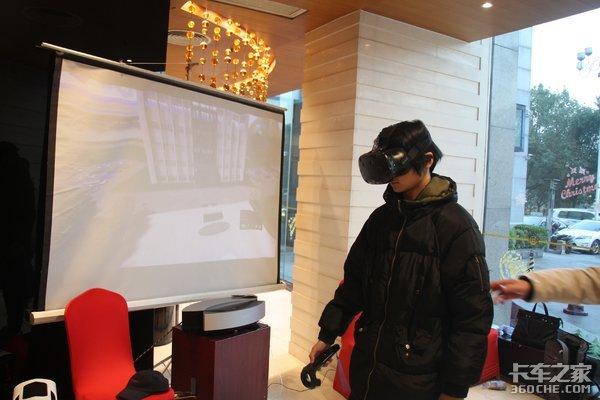 用户到店可尝试海西汽车应用VR看车技术