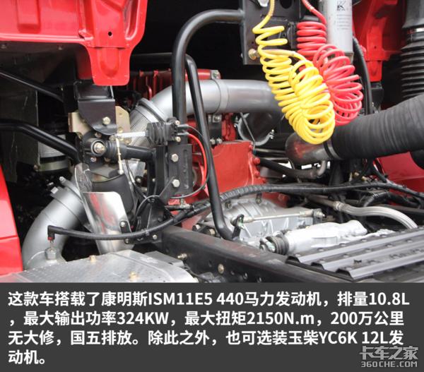 干线物流之利器轩德3系6x4牵引车详解