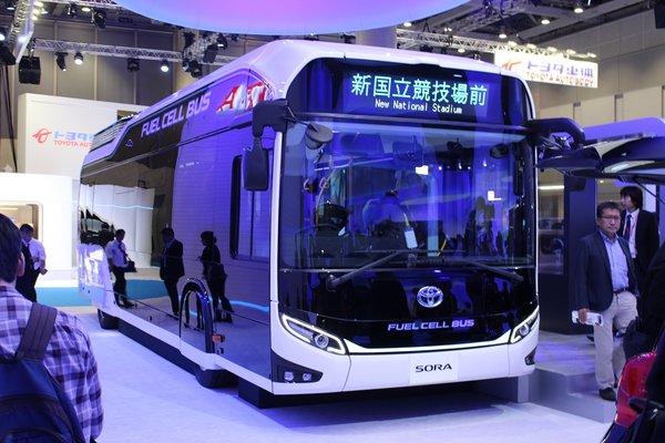 摆脱对化石燃料依赖 日本发展氢燃料车