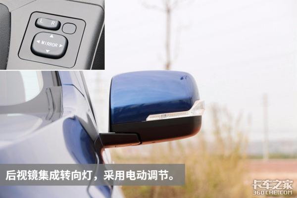 庆铃首款自主产品实拍超豪华版TAGA皮卡