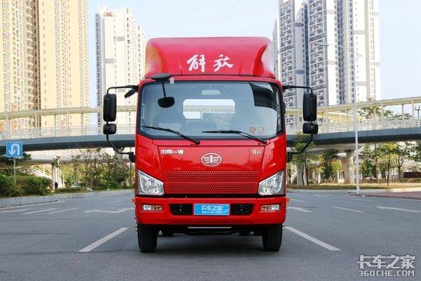 新内饰+七吨桥八挡箱解放J6F再迎升级