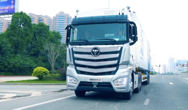 欧曼超级卡车成为物流高质量发展助推器