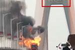 大货车燃烧地点众说纷纭 多地警方辟谣