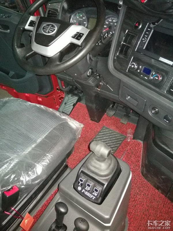 JH6新配置550马力+AMT变速箱、缓速器