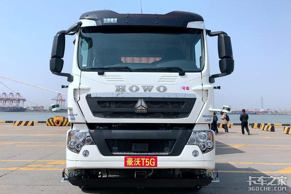 开启港运转型中国重汽无人电动试运营