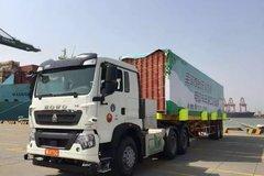 全球首台无人驾驶电动卡车港口试运营!