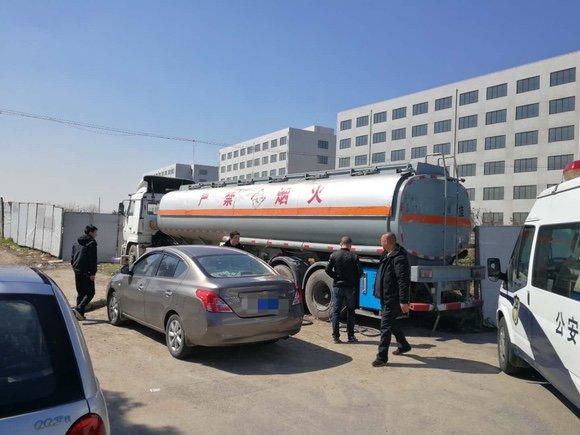 石化公司工作人员竟然开油罐车卖黑柴油
