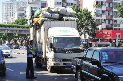 福州:4月19至26日,禁行中重型载货车