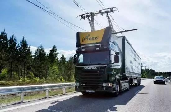 瑞典充电公路:电动汽车可边开边充电