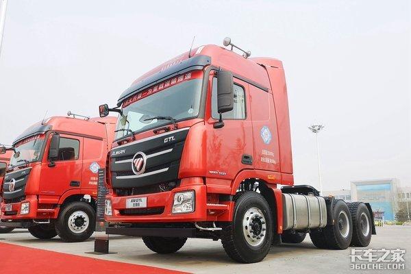 潍柴550马力加持欧曼两款新车正式上市