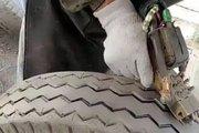 轮胎是这样造假的 你敢买这样的轮胎吗