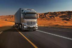 中东市场迎来奔驰新Actros及Arocs