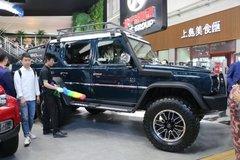 有钱人的玩具 新款北汽 BJ80 6X6越野车