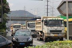 深圳交警大动作 对泥头车实施一超三罚