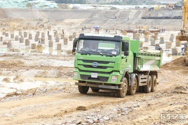 开启电动泥头车时代比亚迪获500台订单