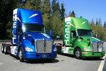 肯沃斯推混合动力卡车 CNG+电动≈0排放