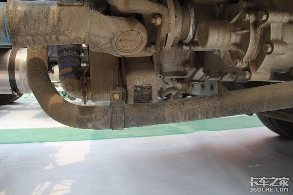 13升430马力LNG发动机德龙X3000图解