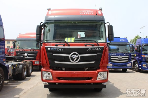 为重载运输提速欧曼GTL至强版牵引车