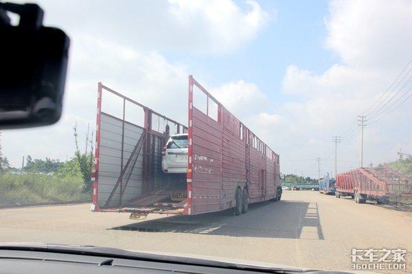 超标轿运车大限将至7月1日起禁上高速