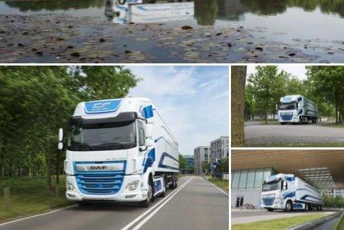 达夫发布新款纯电动卡车及车载蓄电池